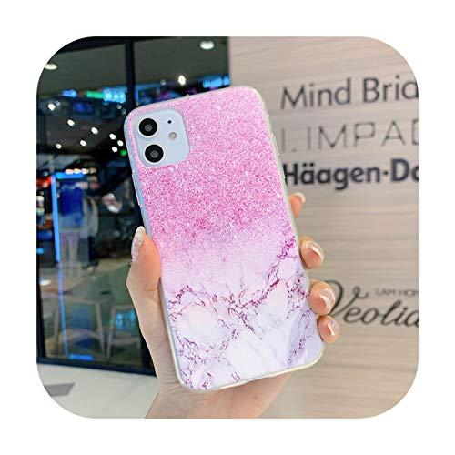Funda transparente para iPhone 12 Mini 11 Pro Max 7 8 Plus X XR XS Max SE 2020 Soft TPU Back Cover-40-Para iPhone 12 Mini