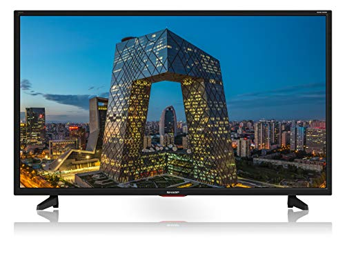 "Sharp Aquos LC-40CF5E - 40"" Full HD LED TV, DVB-T2/S2, 1920 x 1080 Pixels, Nero, suono Harman Kardon, 3xHDMI 2xUSB, 2020 [Classe di efficienza energetica A+]"