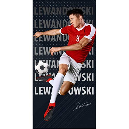 Robert Lewandowski Duschtuch 70x140 cm Bayern München
