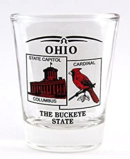 Best ohio state shot glass Reviews