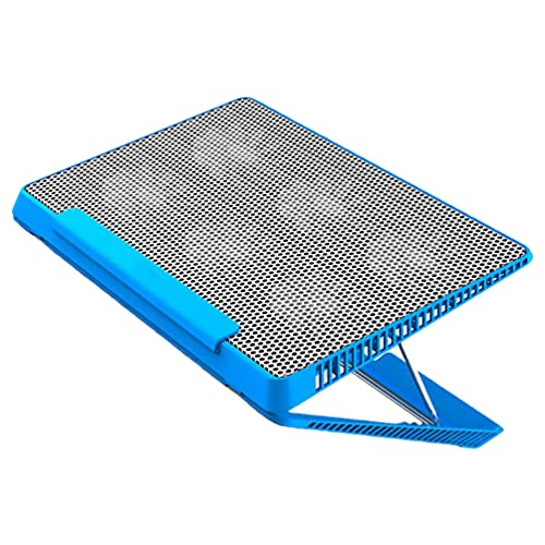 SOLUSTRE Soporte de Base para Portátil con Enfriador USB Soporte Ajustable para 6 Ventiladores Almohadilla de Refrigeración de Aluminio para Ordenador Portátil Soporte para Almohadilla