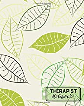 """Therapist Notebook: Record Appointments, Notes, Treatment Plans, Log Interventions, Notetaking Notepad Planner Logbook Journal, Gift for Clinical, ... 8""""x10"""" with 110 pages. (Therapy Logs)"""