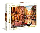 Clementoni- Collection: Venezia Los Pingüinos De Madagascar Puzzle, 1500 Piezas, Multicolor (31668)