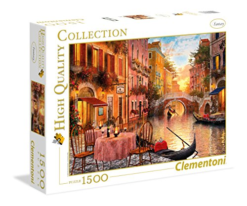 Clementoni Venezia High Quality Collection Puzzle, Multicolore, 1500 Pezzi, 31668