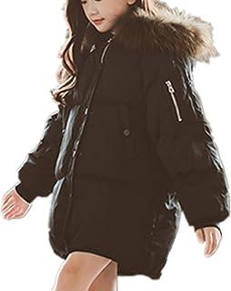 YOJAP 中綿ジャケット 子供服 キッズ 中綿 コート 防寒 上着 かわいい フード付き アウター 暖かい