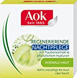 Aok Regenerierende Nachtpflege mit Traubenextrakt und pflanzlichem Hyaluron, 1er Pack (1 x 50 ml)