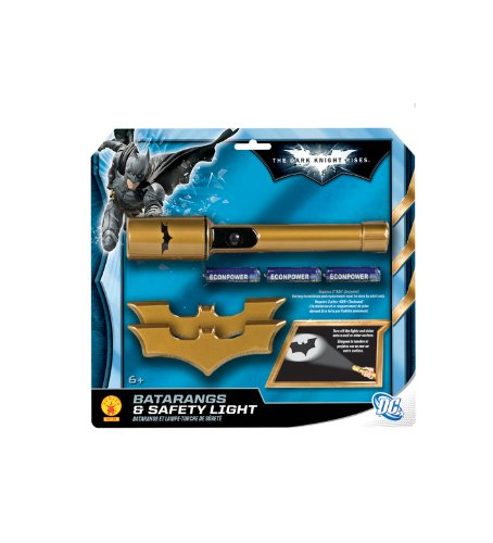 Batman: The Dark Knight Rises: Batarangs and Safety Light (Gold)