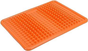 DealMux Voetmassagemat van PVC voor voetmassage, reflexzone-mat voor ontspanning, voetverzorging en gezondheidsbehoud, stress