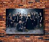 qianyuhe Wandkunst Leinwand Poster und Drucke Buffy The