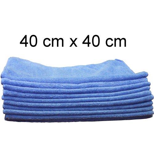 Fahrzeugpflege 10 Mikrofasertücher Poliertuch für Autolack Effektlack Möbel Felgen