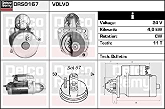 Delco-Remy Starter drs0167 (Bosch 0001231014, 0986020190)