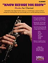 KNOW BEFORE YOU BLOW - Modes for Clarinet
