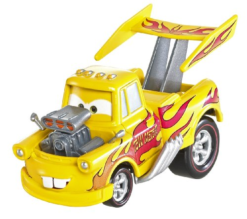 DISNEY PIXAR CARS 2 - DELUXE SERIES / OVERSIZED - FUNNY CAR (DRAG STAR) MATER / MARTIN # 12 - Véhicule Miniature - Voiture