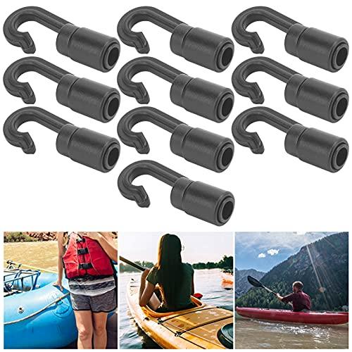 Ganchos para Cuerdas elásticas, livianos, fáciles de Transportar Ganchos para Cuerdas de Choque Resistentes al Desgaste Durables para portaequipajes para Kayaks para Lonas