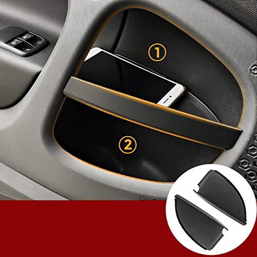 YIWANG Contenitore portaoggetti per maniglia interna di automobile, in plastica, compatibile con Mercedes Benz Smart 453 fortwo 2015-2019