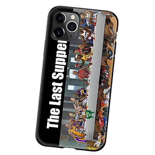 Kobe Jodan James - Funda para iPhone X/XS, XR, XS Max, 7 8 11 12 Series, material TPU de moda anticaídas ultrafino carcasa protectora de baloncesto Sports Star Cov B-XR