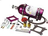 ZEX Replacement Fuel System Parts - ZEX 82040 Square Flange Perimeter Plate Nitrous System with Purple Bottle