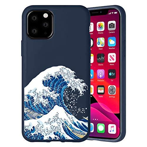 Yoedge Funda para iPhone 6S Plus iPhone 6 Plus 5.5″ Dibujos Animados Carcasa de Silicona Case Protectora de TPU Suave Protección Funda Cover iPhone6Plus Teléfono móvil Carcasas Fundas,Ola del mar