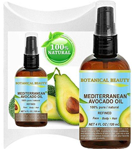 Aceite de Aguacate (mediterráneo). 100% puro/Natural/refinado/sin diluir...