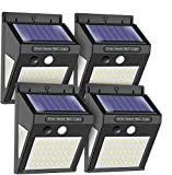 MODAR Solar lights outdoor motion sensor, 50 LED Sensor lights with 120° Wide-Angle