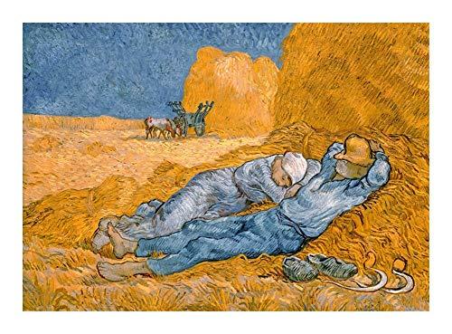 Puzzle París Museo de Orsay Exposición Rompecabezas - Nap (Aceite de Van Gogh Pintura) -Wooden Juega Cada Pieza es única, Piezas encajan Perfectamente (300/500/1500) (Size : 1000pcs )