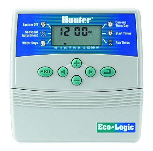 Hunter elc-601i–Programmatore di irrigazione, 6stazioni, per interni