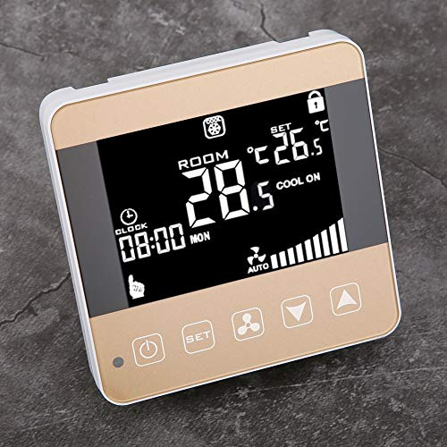 Thermostat Central Air‑Conditioner Temperature Controller Fan‑Coil Units with LCD Display for Central Air‑Conditioner(WiFi)