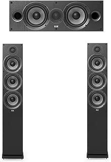 Elac Debut 2.0-3.0 System with 2 F6.2 Floorstanding Speakers, 1 C6.2 Center Speaker