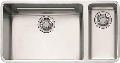 Franke Kubus 33 1 16 X 18 1 8 X 9 1 16 18 Gauge Undermount Single Bowl Stainless Steel Kitchen Sink Amazon Com