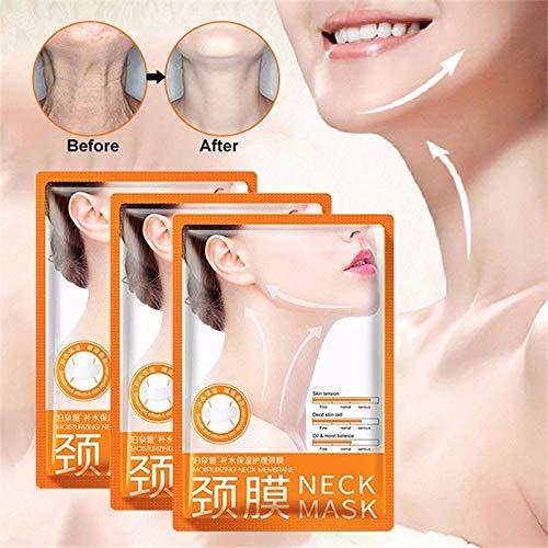 Kenyaw Anti-Falten Silikon Hals Pad/Neck Pad - Anti-Falten Silikon Hals Pad, Silikon-Pflege-Polster, verhindern Hals