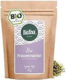 Frauenmantelkraut Bio - 70g hochwertigste Bio - Qualität - Bio-Frauenmanteltee - Alchemilla - von Hebammen empfohlen - Abgefüllt und kontrolliert