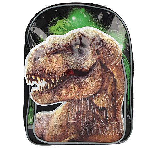 Kids Boys Girls Assorted Character Backpack Hand Luggage School Bags (Jurassic)