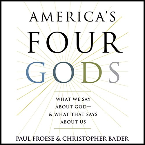 America's Four Gods audiobook cover art