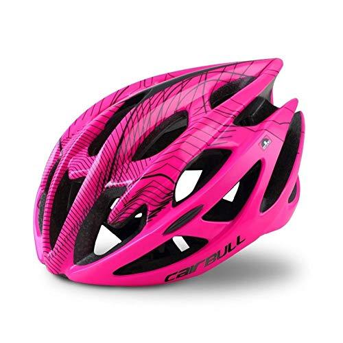 YQPWJ Casco Bici del Deporte De Bicicleta De Montaña Casco con Las...