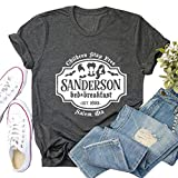 YourTops Niños Stay Free Camiseta Sanderson Sisters Camisa para mujer, 1-gris oscuro, X-Large