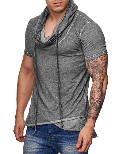 Redbridge Uomo Manica Corta T-Shirts Oversize Coulisse Vintage Maglietta Moda Shirts
