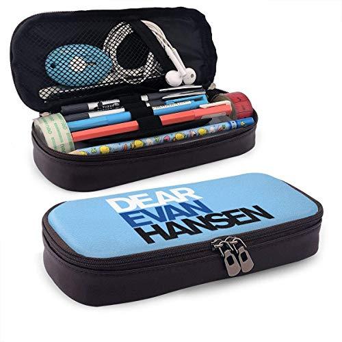 Sehr geehrter Evan Hansen Reißverschluss Pen Pencil Case Art Supplies Aufbewahrungsset Tragbare Reisekosmetik Make-up-Tasche