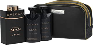Lote Bvlgari Man In Black Edp 100Ml + Shower Gel 75Ml + After Shave Balm 75Ml + Regalo