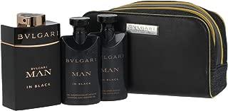 Bvlgari Man In Black EDP Gift Set (EDP100ml+SG100ml+ASB75ml+POUCH)(45946)
