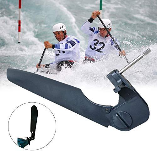 GCDN - Sistema de control de pie ajustable para kayak, barco, cola de agua, parte duradera para kayak, kayak, canoa, barco, barco marino, etc., negro, 48 cm