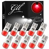 GLL T10 501 Ampoules LED Céramique Rouge 194 168 W5W LED avec 3-2835-SMD Pour Voiture Intérieur Dôme Camion Lumières Licence Eclaireurs de Plaque Lumières de Courtoisie