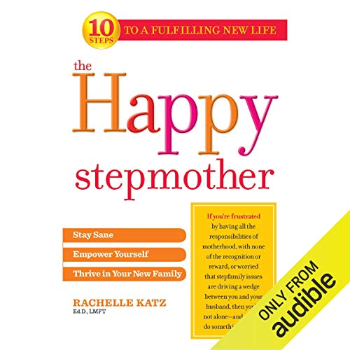 The Happy Stepmother audiobook cover art