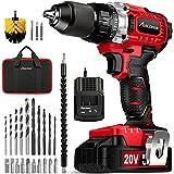 Best Brushless Drills - AVID POWER 20V Brushless Drill Driver Set, Cordless Review