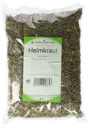 Naturix24 Helmkrauttee, Helmkraut geschnitten – Beutel, 1er Pack (1 x 500 g)