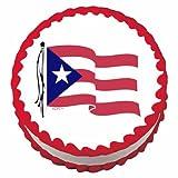 Puerto Rican Flag ~ Edible Cake / Cupcake Topper