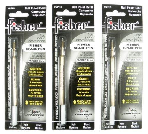 Fisher Space Pen 3 Kugelschreibermine Schwarz Breit