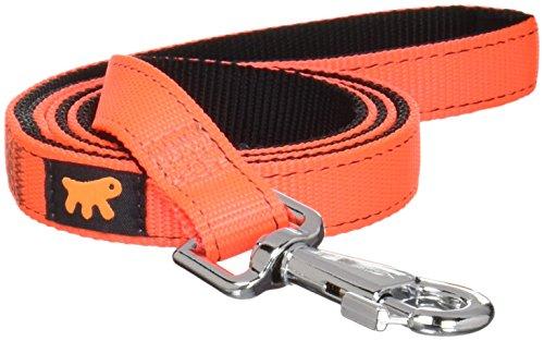 Ferplast 75173939 hondenriem Dual G20/110 Colours, lengte: 110 cm, breedte: 2,0 cm, oranje