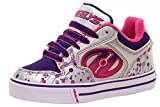 Heelys Motion Plus Patines, Niñas, Multicolor (Silver/Rosa/Purple/Drip), 40.5