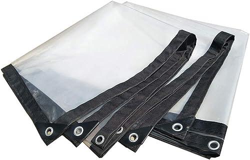 Bache de Prougeection Toile imperméable en Plastique Transparent Feuille épaisse imperméable en Tissu Poncho en Plastique Toile de linoléum Culture Culture à Effet de Serre (Taille   4m5m)