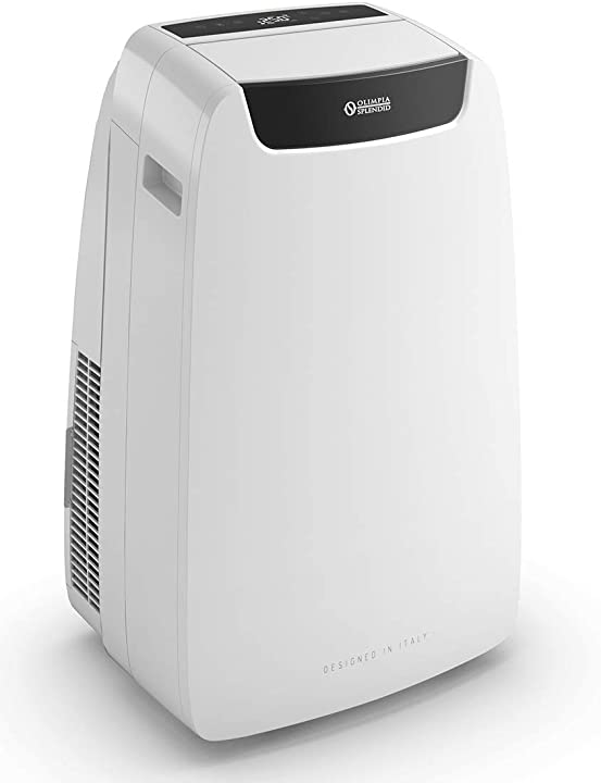 Climatizzatore portatile, con telecomando e wifi ready 14.000 btu/h, 3,52 kw olimpia splendid 02028